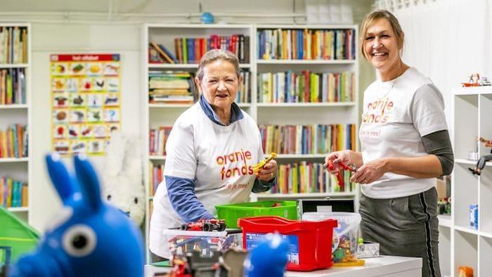 Oranje Fonds Stel NLdoet-activiteiten uit
