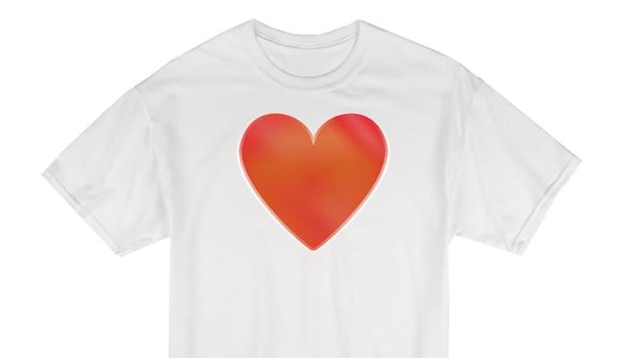 mijnhartvoordezorg wit t-shirt met rood hart