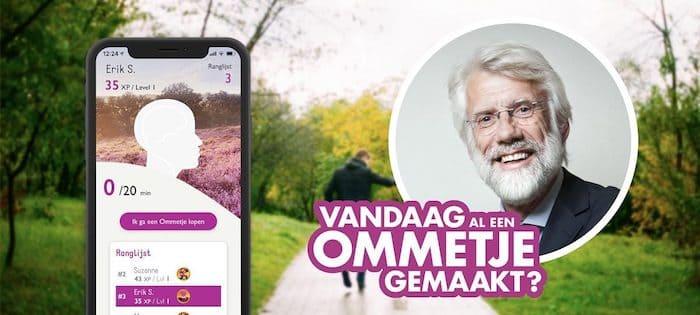 Ommetje App Erik Scherder
