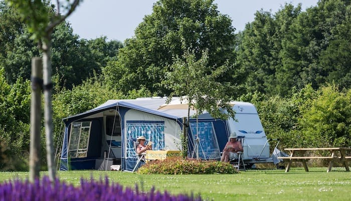 vakantie caravan camping