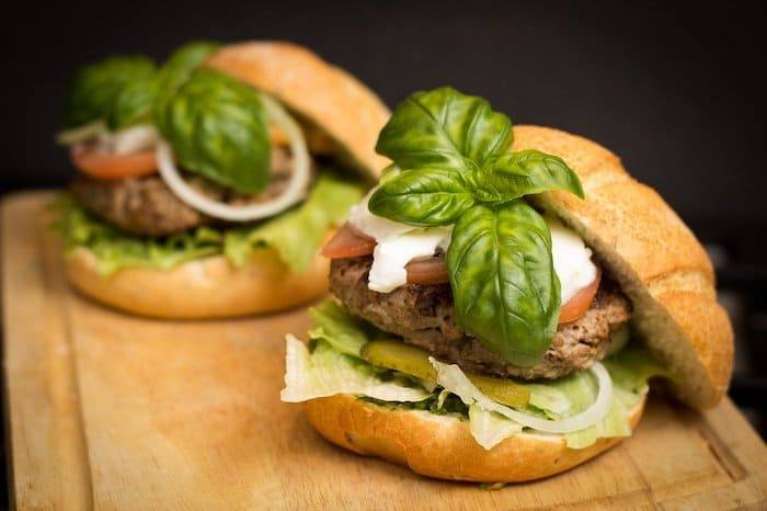 kweekvlees-hamburger