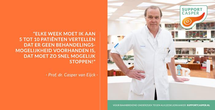 Casper van Eijck, Quote