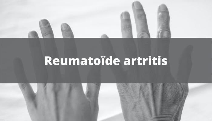 reumatoïde artritis