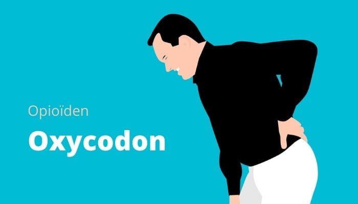 man met rugpijn, oxycodon