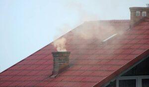 rokende schoorsteen