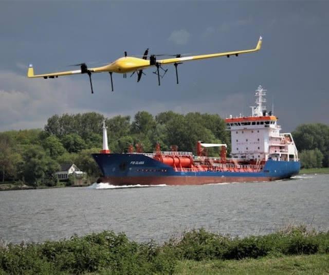 Drone vervoert medicijnen
