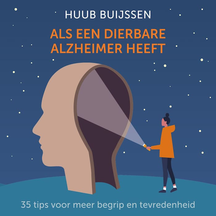 Boekcover, Als een dierbare Alzheimer heeft, Huub Buijssen